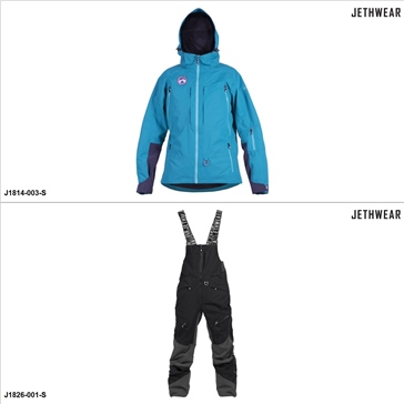 Jethwear Phase/Pemby Jacket/Pants Suit - S - Men