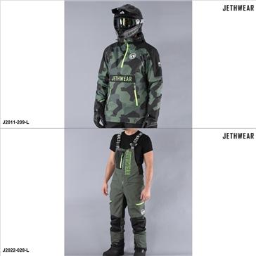 Jethwear Flight Anorak/Crest Jacket/Pants Suit - L - Men