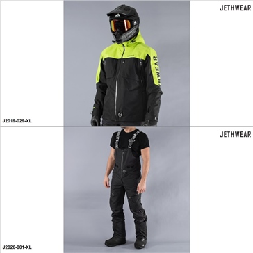 Jethwear The Burn/Pemby Jacket/Pants Suit - XL - Men