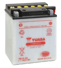 Yuasa Battery YuMicron YB14L-B2