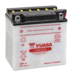 YUASA YuMicron Battery YB9L-B