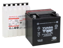 Yuasa High Performance Maintenance Free (AGM) Batteries YIX30L-BS